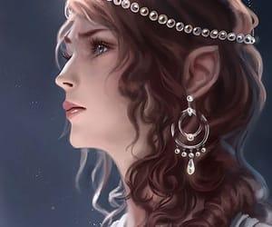 fantasy, beautiful, and girl image