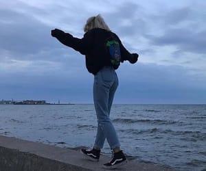 girl, sea, and tumblr image