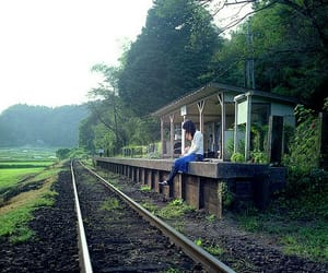 country living, rural, and railway image