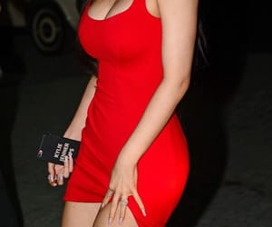 kylie jenner, red, and jenner image