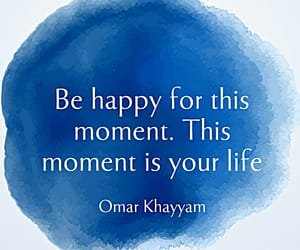 blue, motto, and quote image
