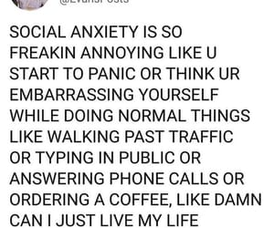 anxiety, mental health, and mental illness image
