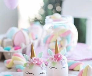 easter, egg, and unicorn image