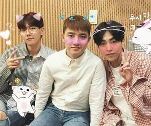 exo, kim min seok, and kpop image