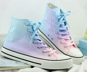 pastel, shoes, and blue image