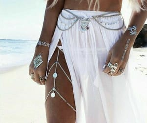summer, beach, and white image