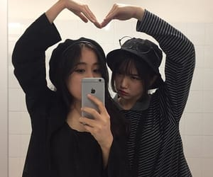 ulzzang, couple, and icon image