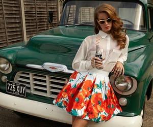 lana del rey, vintage, and car image