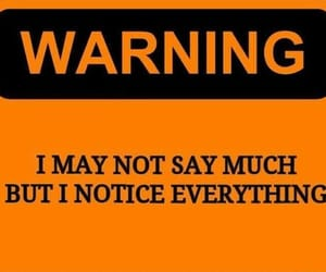 orange, signs, and warning image