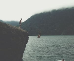 friends, nature, and grunge image