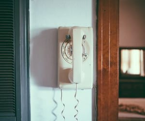 calling, forks, and telephone image