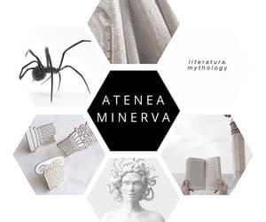 athena, Collage, and greek gods image