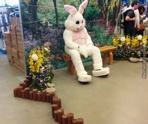 bunny, carrot, and easter image