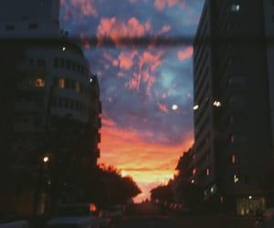 city, cuty, and night image