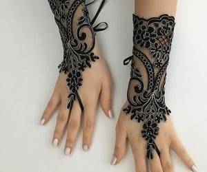 etsy, gothic girl, and guantes image