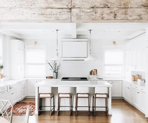 architecture, decoration, and kitchen image
