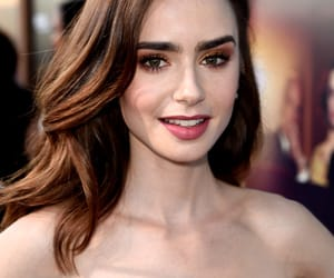 makeup and lily collins image