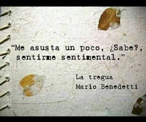 mario benedetti, frases, and sentimental image