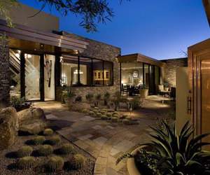 exterior, garden, and house image