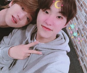 Seventeen, the8, and hoshi image
