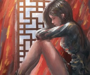 asia, beautiful, and mind image