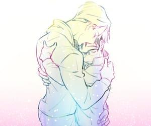 victor, yuri, and anime couple image