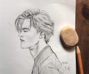 art, dibujo, and illustration image