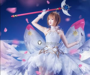 anime cosplay, beautiful cosplay outfits, and angel sakura cosplay image