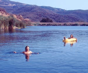 70s, blue, and california image