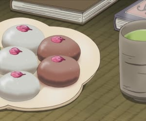 sweets, anime food, and youkai apartment image