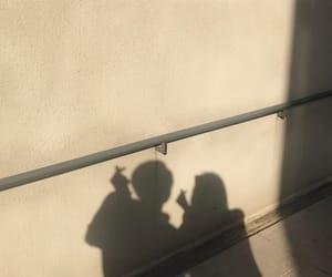 aesthetic, couple, and shadow image