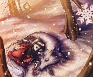 little red riding hood and wolf image
