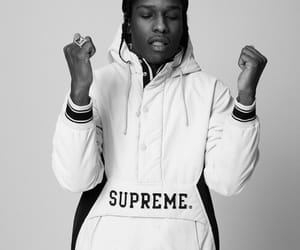 asap rocky, supreme, and asap image