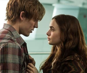 article, romance, and lillycollins image