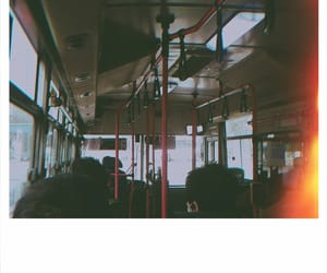 bus, korea, and photography image