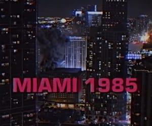 dark, grunge, and Miami image
