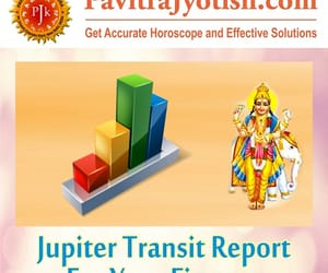 finance horoscope, jupiter transit, and finance astrology image