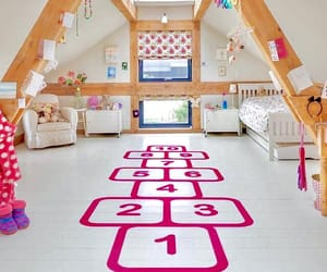 attic, kids, and interiors image