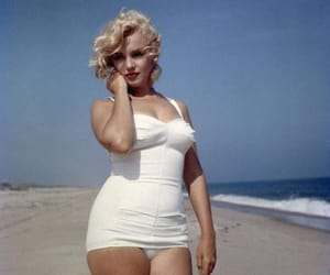 beauty, icon, and marilyn image