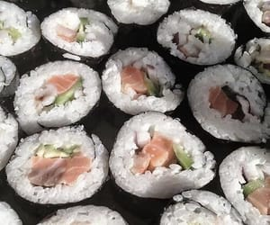 theme, sushi, and food image