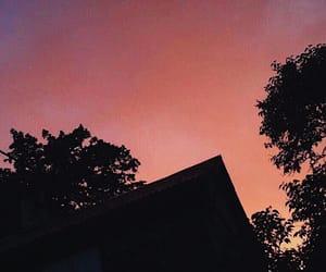 blue, nature, and orange image
