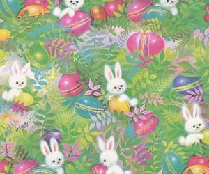 bunnies, easter, and spring image