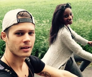 fashion, interracialcouple, and interracialdating image