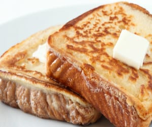 article, food, and french toast image
