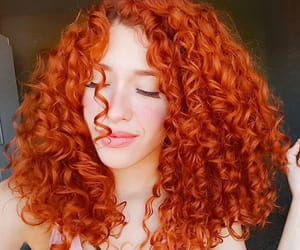 beauty, curls, and curly hair image