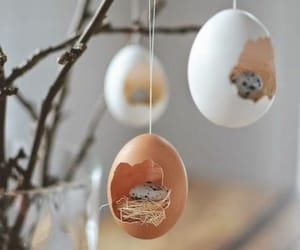 decor, easter, and spring image