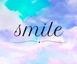 smile and quotes image