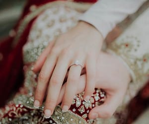 bride, bridge, and couple image