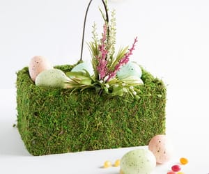 basket, easter, and natural image