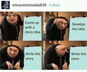 funny, GRU, and story image